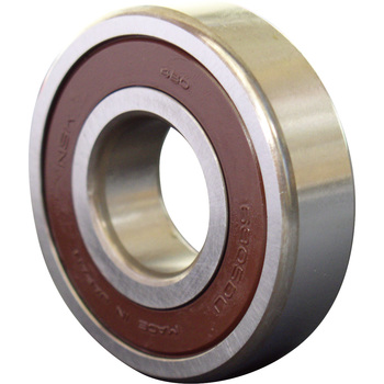 Single-Row Deep Groove Ball Bearing No. 6200 Stand Ddu, Both-Sides Contact Rubber Seal Type