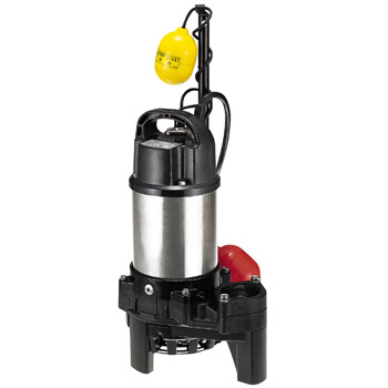 Underwater high spin pump for miscellaneous drainage