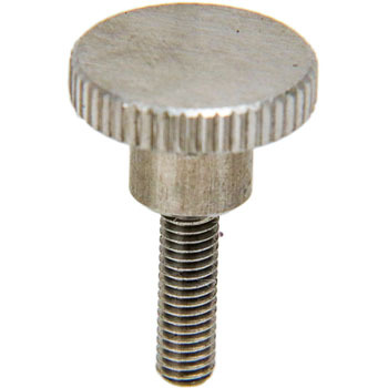 Knurl Knob, Stainless Steel Made Male ScrewM3
