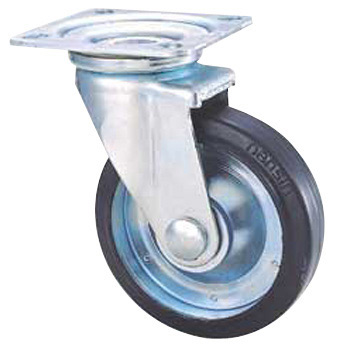 STM Swivel Caster, Rubber Wheels