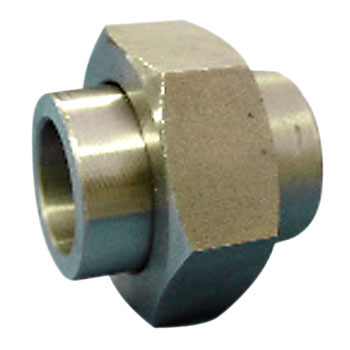High pressure plug type welded type union