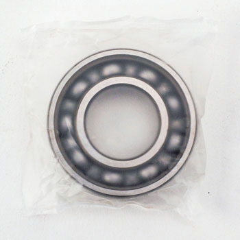 Single Line Deep Groove Ball Bearing One Side Steel Sheet Seal Shape Z