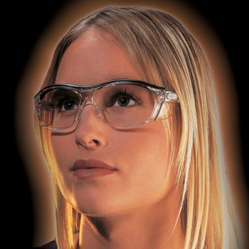 Nuovo Clear Safety Glasses