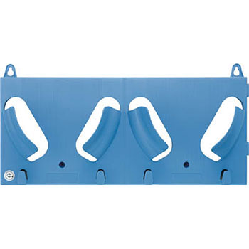 Echo Rack Blue, Protective Hat Closet