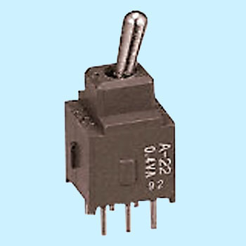 Basic lever type toggle switch A series PC-H terminal type (2 pole double throw)