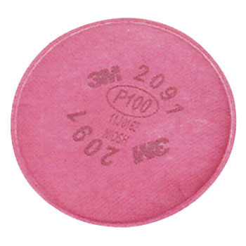 Particulate Filter 2091/07000 AAD, P100 Respiratory Protection