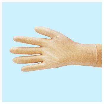 New PVC Powder Free Gloves Long Type