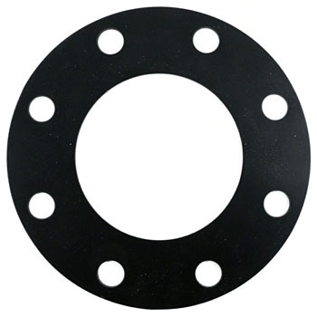 Flange Whole Surface Gasket, Natural Rubber