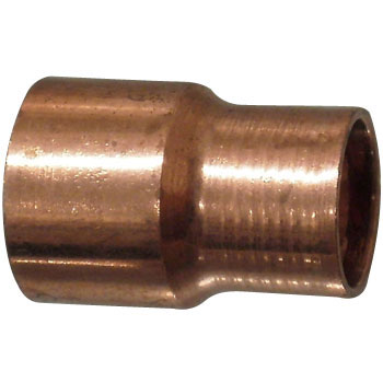 Copper Pipe Socket, Reducing