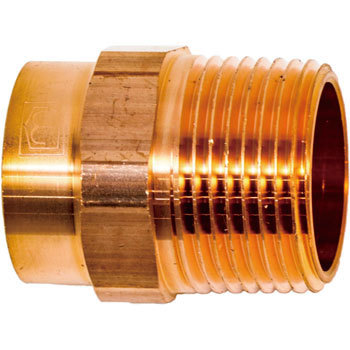 Copper Male Thread Adapter M154
