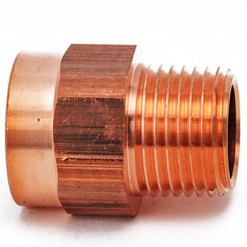 Copper Male Thread Adapter, Reducing