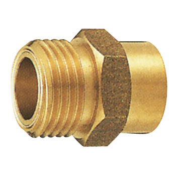 Flexible Cable Copper Pipe Male Adapter