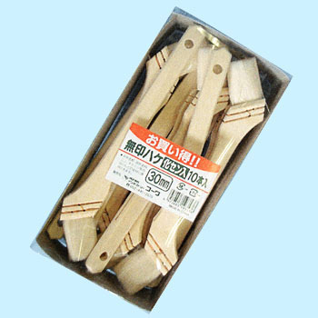 Unbranded Brush With Synthetic Fibers 10/Pkg