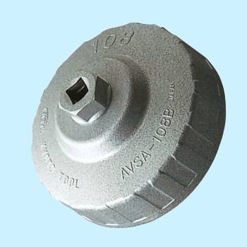 Cup Type Oil Filter Wrench for Large Diameters