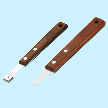 CERAMIC AND STAINLESS SCRAPER SET (2pcs.)