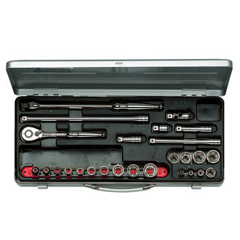 "3/8""sq. SOCKET WRENCH SET (26pcs.)"