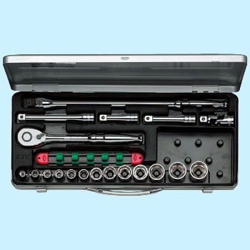 "1/2""sq. SOCKET WRENCH SET (19pcs)"