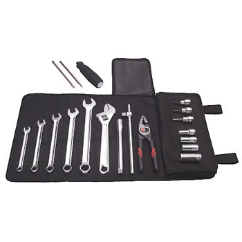 MOTO CLUB® SERIES RIDER'S MAINTENANCE TOOL SET (17pcs.)
