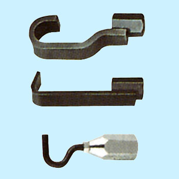 SLIDE HAMMER PULLER ATTACHMENT HOOK SET (3pcs.)