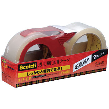 Scotch Transparent Tape For Packing : Bargain Pack 313