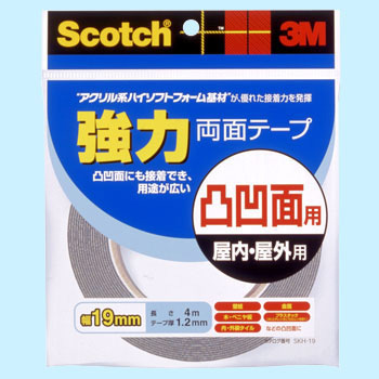 Scotch  Reinforcement Double Sided Tape  For Uneven Surfaces Skh