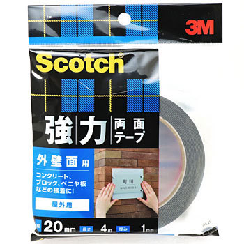 For Scotch Powerful Both Sides Tape External Wall Surface Skb