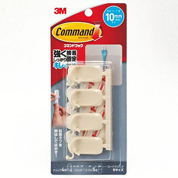 Command Hook Cord Clip Mini