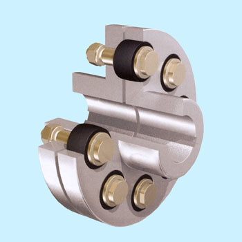 Flexible Flanged Shaft Coupling