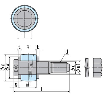 Flanged Type Flexible Shaft Coupling