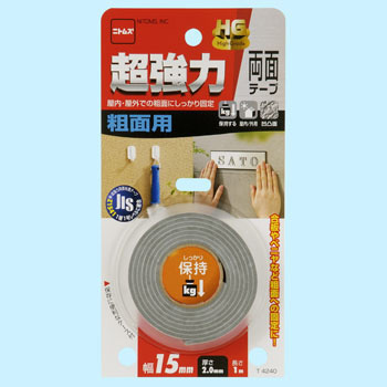 Super Strong Double-Sided Tape For Rough Surfaces Hg