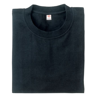 long-sleeved pocketless T-shirt
