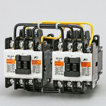 Reversible electromagnetic contactor (without case cover)