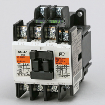 Electromagnetic Contactor Standard Type, No Case Cover
