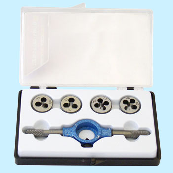 DIS screw threading set