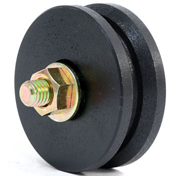 Iron Weight Sash Roller V Type Only Wheel