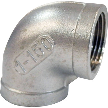Pipe Fitting, Stainless Steel Screw Elbow