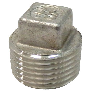 Pipe Fitting, Square Plug
