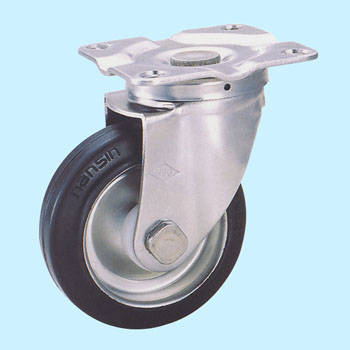 Su-Stc Swivel Caster, Rubber Wheel