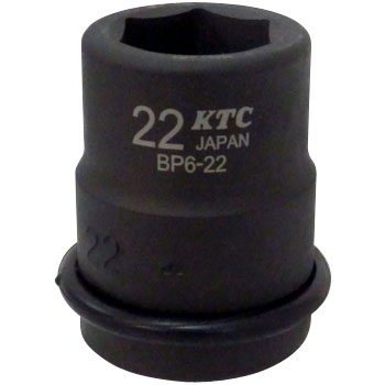 19.0sq. Socket for impact wrenches (standard) With a pin ring