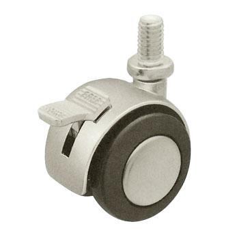 Two Wheels Caster Stopper Bolt Type, U Type