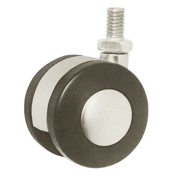 Twin Wheel Casters Tw Type, Bolt Mounting