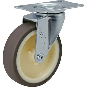 420E Swivel Caster, Nylon Wheel Urethane Wrapped Wheel