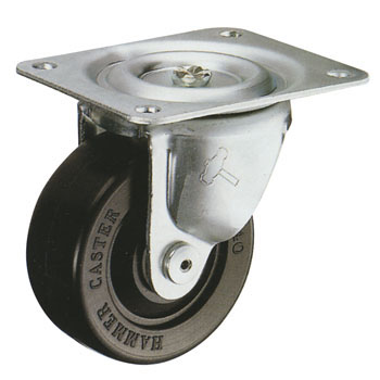 440G Swivel Caster, Rubber Wheel