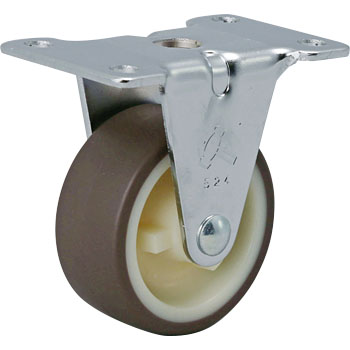 420ER Rigid Caster, Urethane Wheel