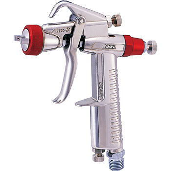 Ultra-compact, lightweight spray gun (gravity)