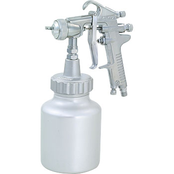 Pressurized spray gun