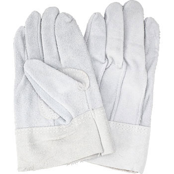 Leather Gloves With A Back Seam