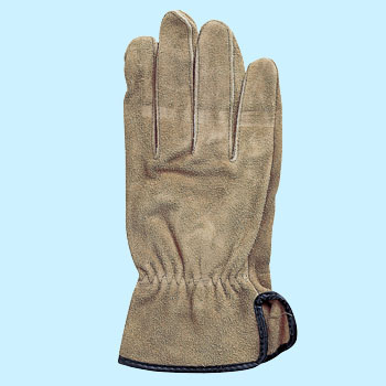 "Suede Gloves, ""Rain Max"""