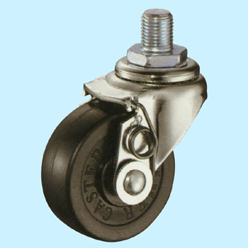 Threaded Caster, Brake