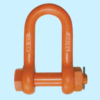 Lightweight Shackle, Straight Type, U-ShapedBolt Type